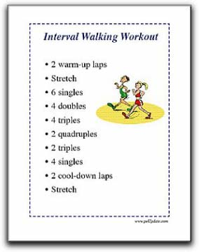 Fitness: Interval Walking - A Fun Rainy Day Activity for Physical ...
