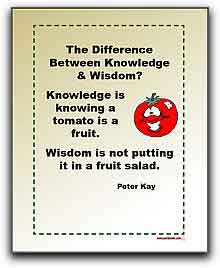 Quotes The Difference Between Knowledge And Wisdom