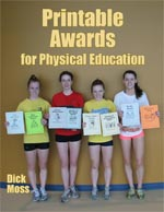 Printable Awards for PE - 46 inexpensive awards for students!